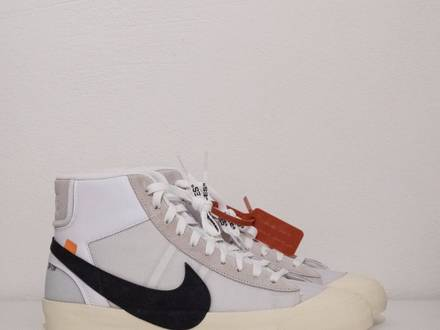 NIKE X Off White BLAZER MID the ten 2017 NEW DS US 13 UK 12 EUR 47,5 - photo 1/5