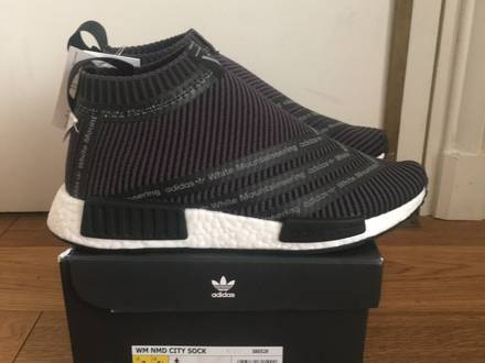 Adidas NMD City Sock x White Mountaineering 7 US DS <strong>Yeezy</strong> 350 <strong>Zebra</strong> Supreme CDG Kaws Jordan - photo 1/5