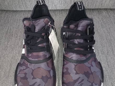 Adidas Nmd Runner R1 Bape - Black Camo - <strong>Bathing</strong> <strong>Ape</strong> - Size US10.5 / EU44 2/3 - New+DS - photo 1/7