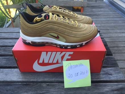 Nike <strong>Air</strong> <strong>Max</strong> <strong>97</strong> OG QS (<strong>Gold</strong>) - US 10 - photo 1/7