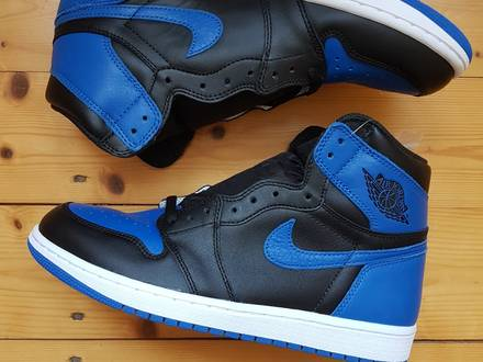 NIKE AIR JORDAN 1 RETRO HIGH OG ROYAL US 8 | UK 7 | EU 41 555088-007 - photo 1/7