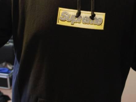 Supreme Bling Box Logo hoodie size XL S/S13 - photo 1/5