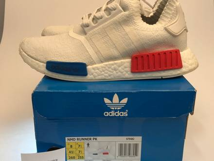 Adidas NMD OG White 41 1/3 - photo 1/5
