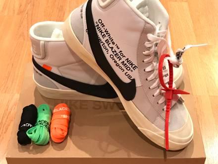 Nike x Off White Blazer Mid Virgil Abloh - photo 1/8