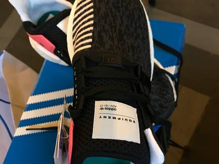 Adidas Eqt Support boost turbo red 93/17 - photo 1/5