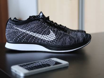 <strong>Nike</strong> Flyknit Racer <strong>Oreo</strong> 2.0 (2015) / 42,5 US.9 / NEW - photo 1/6