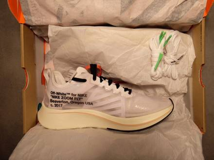 The 10 : Nike Zoom Fly Off White us 7.5 // eu 40.5 - photo 1/6