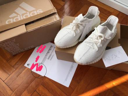 Adidas yeezy boost 350 v2 cream white - photo 1/5