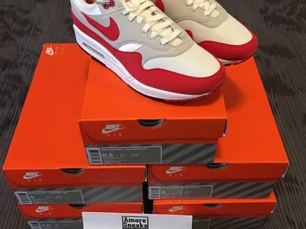 Nike air max 1 og 30th anniversary red us9 eu42,5 - photo 1/6