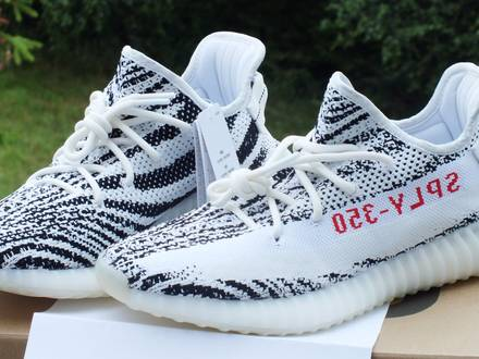 Adidas <strong>Yeezy</strong> Boost 350 v2 <strong>Zebra</strong> Size US 9,5 and US10 - photo 1/8
