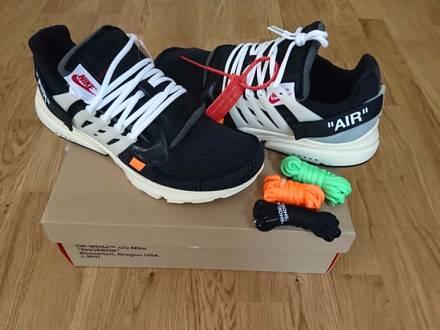 Nike Air Presto x Off White Virgil Abloh sz13US - photo 1/5