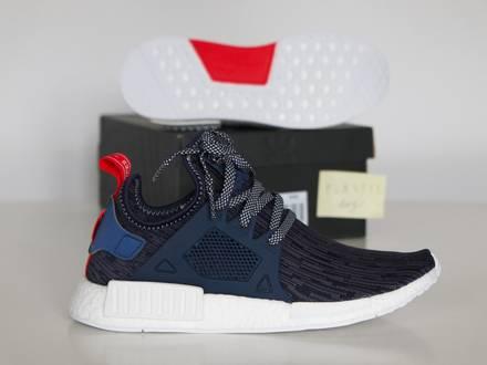 "<strong>Adidas</strong> <strong>NMD</strong> <strong>XR1</strong> Primeknit ""Unity Blue"" Sz US 9.5 · UK 9 · EU 43 1/3 BB3685 - photo 1/5"