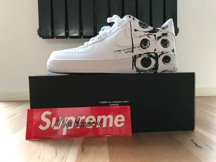 Supreme x Comme des Garçons Nike Air Force 1 low - photo 1/5