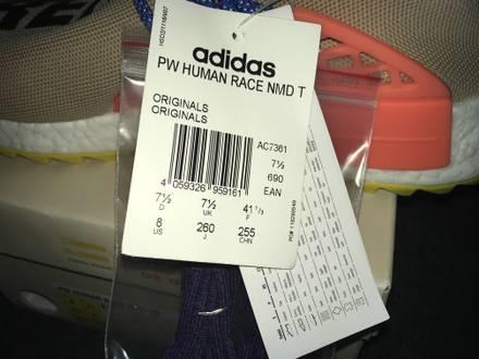Adidas x Pharrell Williams NMD Human Race US8 - photo 1/7