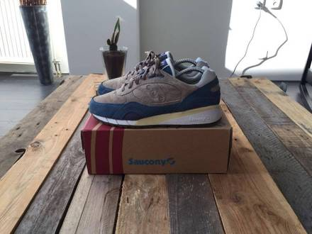 <strong>Saucony</strong> X Bodega Shadow 6000 Phase II Grey Blue - photo 1/6