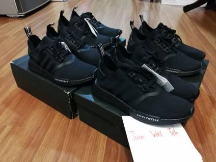 Adidas NMD R1 PK Japan Triple Black - photo 1/7