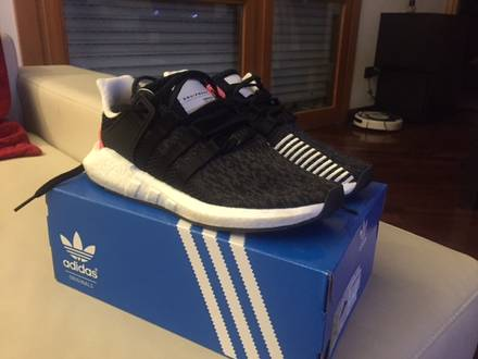 adidas Equipment Support 93/17 Core Black/Turbo Red - photo 1/7