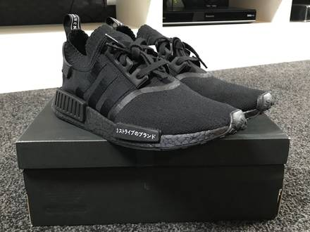 Adidas Originals NMD R1 Japan Triple Black UK9 - photo 1/5