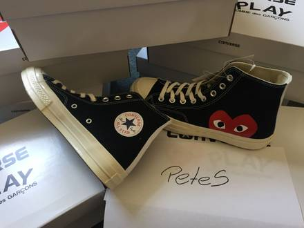 CONVERSE x CDG <strong>COMME</strong> <strong>DES</strong> <strong>GARCONS</strong> TRAINERS UK7 8 9 - photo 1/5