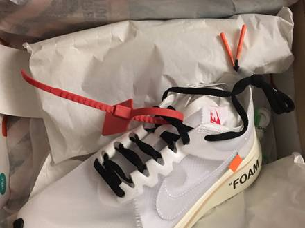 "Nike x Off-White Zoom Fly ""The Ten"" - photo 1/5"