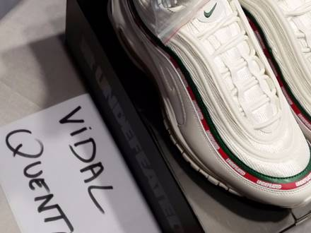 nike air max 97 undefeated white - photo 1/5