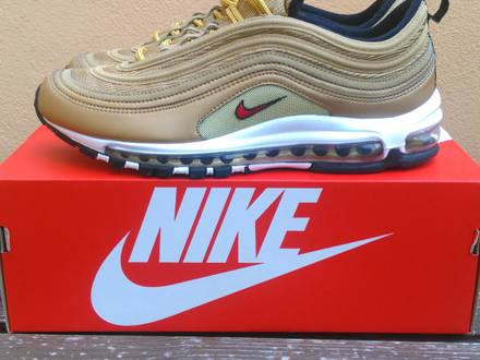 NIKE <strong>AIR</strong> <strong>MAX</strong> <strong>97</strong> OG Metallic <strong>Gold</strong> - photo 1/5