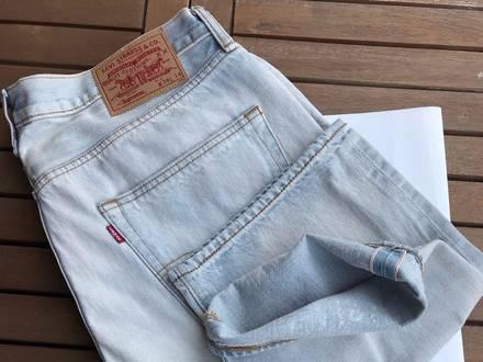 Supreme x Levi's Bleached 501 Jeans 36Wx34L - photo 1/5