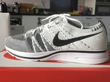 Nike Flyknit Trainer White & Black The Return (2017) - photo 1/6