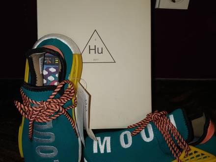 Adidas x Pharrell NMD Human Race Trail Sun Glow Size US 6 - photo 1/5