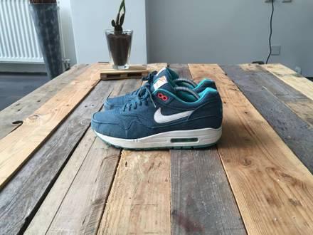 Nike Air Max 1 Turquoise Denim - photo 1/6