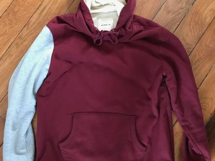 Kith Aime Leon Dore Hollis Hoodie Oxblood Burgundy size L - photo 1/5