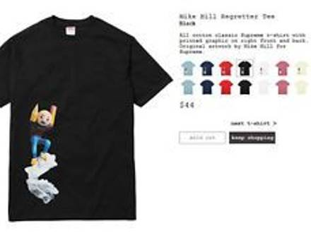 Supreme Mike Mill Regretter Tee - photo 1/6