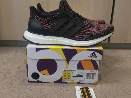 Adidas Ultra Boost 3.0 LTD Multicolor 8 US DS <strong>Cream</strong> <strong>Yeezy</strong> Boost <strong>350</strong> Zebra Beluga <strong>White</strong> Supreme Box L - photo 1/5