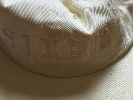 Supreme overlap 6 panel yellow - photo 1/5