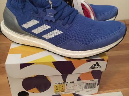 adidas Consortium Ultra Boost Mid 'Run Thru Time' US8.5 Deadstock - photo 1/6