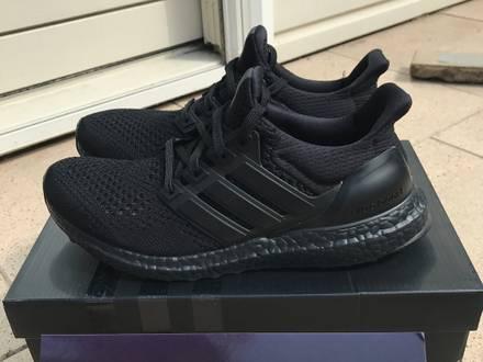 Adidas Ultra Boost Triple Black 1.0 - US 8 / UK 7.5 / EU 41 1/3 - 100% authentic - photo 1/7