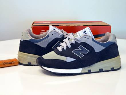VNDS New Balance 580 M580NV - Made in USA - US9 - photo 1/8