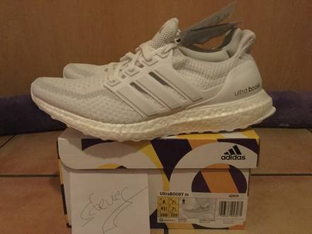 <strong>Adidas</strong> <strong>Ultra</strong> <strong>Boost</strong> 2.0 All <strong>Triple</strong> <strong>White</strong> - photo 1/6