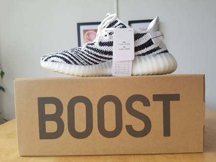 Adidas <strong>Yeezy</strong> Boost 350 V2 <strong>Zebra</strong> US 9 EU 43 - photo 1/8