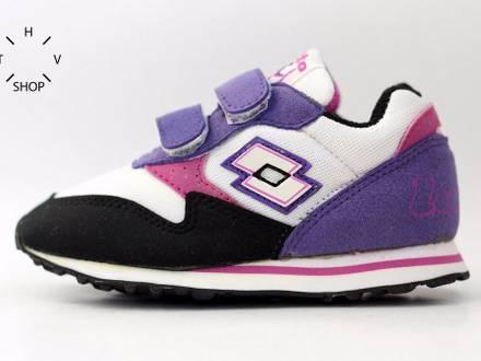 1990s lotto running runner plus sneakers vintage kids juniors toddler baby 90s ds - photo 1/8