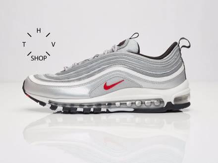 Nike <strong>Air</strong> <strong>Max</strong> <strong>97</strong> OG original silver bullet metallic 885691-001 WMNS QS <strong>gold</strong> NEW - photo 1/6