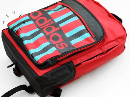 Vintage Adidas Originals backpack rucksack unisex bag hip hipster urban town daily NOS Deadstock DS - photo 1/8