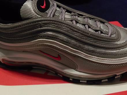 Nike <strong>Air</strong> <strong>Max</strong> <strong>97</strong> OG QS <strong>Silver</strong> Bullet/Varsity Red/Black/White - photo 1/5