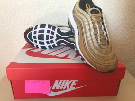 Nike <strong>Air</strong> <strong>Max</strong> <strong>97</strong> Metallic <strong>Gold</strong> - photo 1/5
