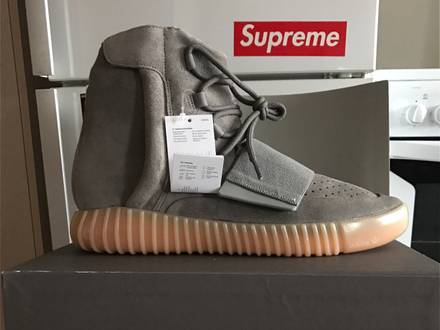 Adidas Yeezy 750 grey gum 10,5 US DS - photo 1/6