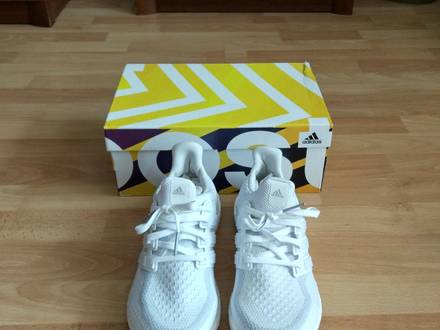 <strong>Adidas</strong> <strong>Ultra</strong> <strong>Boost</strong> <strong>Triple</strong> <strong>White</strong> 2.0 - photo 1/5