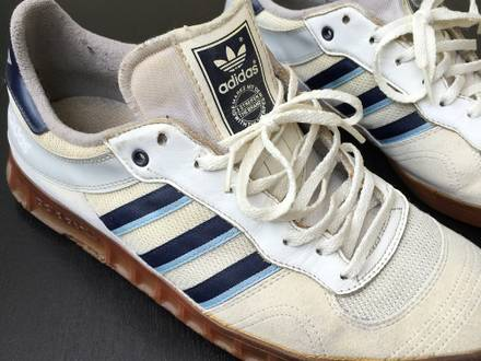 1980s Adidas Vintage trainers / porous soles / collector's item - photo 1/8