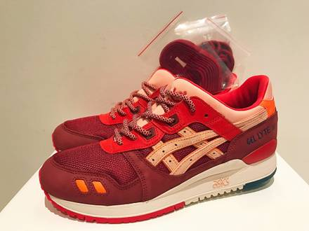 uk availability c2f74 8ff76 ronnie fieg asics gel lyte iii volcano 2 0