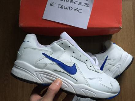 Nike air proton White Royal Blue Zen Grey - photo 1/6