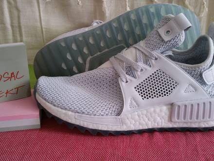 Adidas Originals Women's NMD_XR1 Primeknit Vintage White Shoes